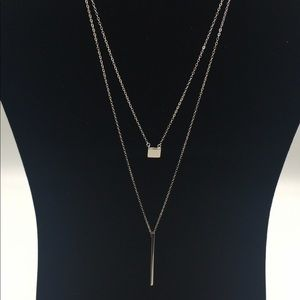 .925 ss Necklace Set - Wear Together or Separate!